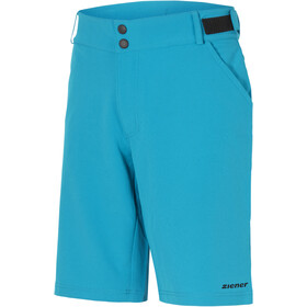 Ziener Philias X-Function fietsbroek kort Heren, sea